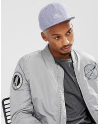 Alpha Industries - X-fit Logo Baseball Cap In Grey Marl - Lyst