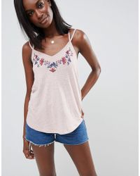 Abercrombie & Fitch - Embroidered Vest - Lyst