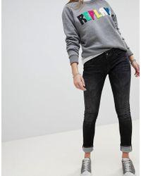 Replay - Luz Skinny Jeans - Lyst