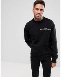 DIESEL - S-ellis-cl Pocket Logo Sweatshirt - Lyst