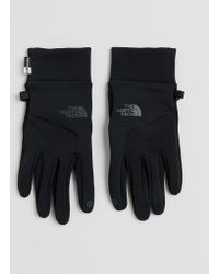 The North Face - Etip Gloves In Black - Lyst