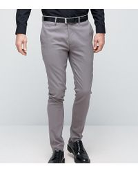 Only & Sons | Super Skinny Smart Trousers | Lyst