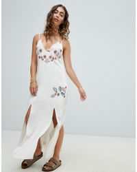 Somedays Lovin - Still Light Embroidered Beach Dress - Lyst