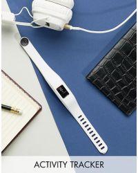 Garmin - Vivofit 3 Regular Activity Tracker In White - Lyst