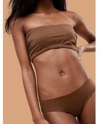 Nubian Skin - Naked Collection Nude Perfect Thong In Dark - Lyst