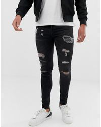 Loyalty & Faith - Loyalty And Faith Skinny Fit Jeans In Washed Black - Lyst