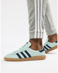 Adidas Originals Bermuda Sneakers In Grey in Gray for Men - Lyst 288c139f5