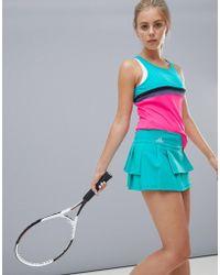 adidas - Tennis Skirt In Mint - Lyst