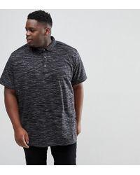 Loyalty & Faith - Loyalty And Faith Plus Marl Polo Shirt - Lyst