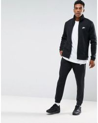 Nike - Fleece Tracksuit Set In Black 861776-010 - Lyst