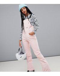 Billabong - Riva Bib Ski Trouser In Pink - Lyst