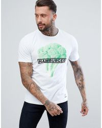 DIESEL - T-just-so Hamburger T-shirt - Lyst