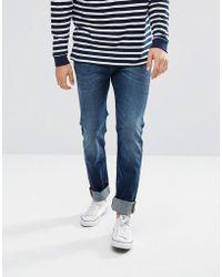 Lee Jeans - Rider Slim Fit Jean Pacific Worn - Lyst