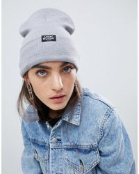 Cheap Monday - Beanie In Gray - Lyst