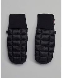 The North Face - North Face Black Thermoball Mittens - Lyst