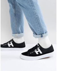 Huf - Hupper 2 Lo Trainers In Black - Lyst