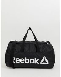 3cd8b9e687 Reebok - Training Active Core Holdall Bag In Black Dn1521 - Lyst