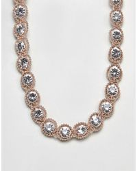 Coast - Zuri Crystal Necklace - Lyst