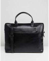 Royal Republiq - Courier Single Leather Satchel In Black - Lyst