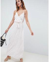 Oh My Love - Spotty Maxi Dress - Lyst
