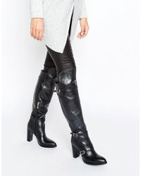 Tommy Hilfiger - Gigi Hadid Nautical Over The Knee Heeled Boots - Lyst