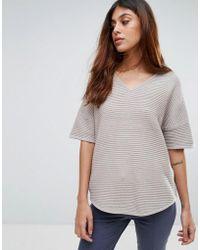 SELECTED - Kana Knit Short Sleeve Jumper - Lyst