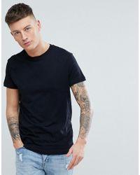 Pull&Bear - Organic Cotton T-shirt In Black - Lyst