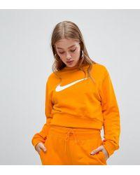 Nike - Exclusive To Asos Orange Joggers - Lyst