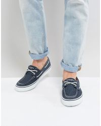 Sperry Top-Sider - Topsider Bahama Boat Shoes In Blue - Lyst