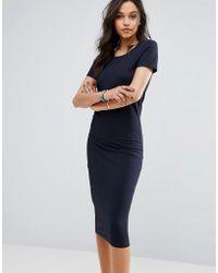 ONLY - Abbie Midi Jersey Dress - Lyst