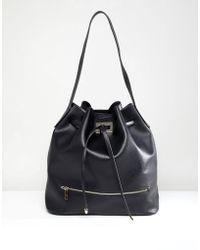 Park Lane - Shoulder Bag With Hardware - Lyst