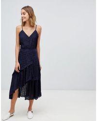 Gestuz - Cete Lace A-line Midi Skirt - Lyst