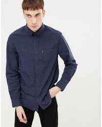 Ben Sherman - Gingham Slim Fit Shirt - Lyst