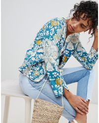 Pepe Jeans - Lala Floral Patchwork Jacket - Lyst
