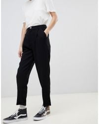 Pull&Bear - Button Top With Turnup - Lyst