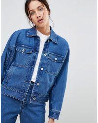 Kowtow - Formation Boxy Denim Jacket In Organic Cotton - Lyst