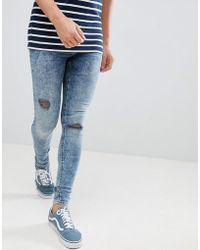 Blend - Flurry Muscle Fit Jeans In Blue Black - Lyst