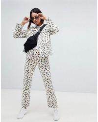 Weekday - Leopard Voyage Jean In Organic Cotton - Lyst