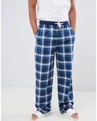 Tokyo Laundry - Cotton Check Lounge Pants - Lyst