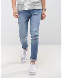 Dr. Denim - Jeans Leon Slim Tapered Drop Crotch Light Stone Wash - Lyst