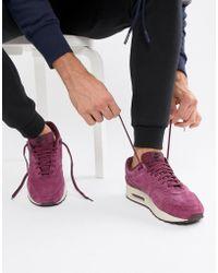 huge discount ef393 22075 Nike - Air Max 1 Premium Sneakers In Purple 875844-602 - Lyst