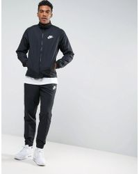 Nike - Tuta nera 861778-010 - Lyst