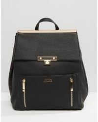 Faith - Exclusive Zip Detail Premium Backpack - Lyst