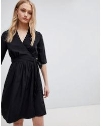 Blend She - Feya Wrap Dress - Lyst