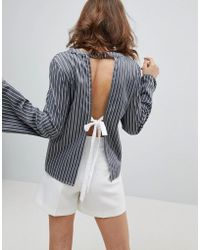 UNIQUE21 - Backless Top - Lyst