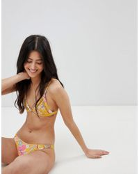 Rhythm - Tropical Cheeky Bikini Bottom - Lyst