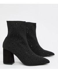 d0eee12dc9c Lyst - Jessica Simpson Luxella Hotfix Embellishment Over The Knee ...