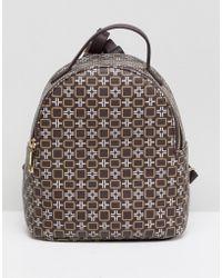 ASOS - Mini Monogram Backpack - Lyst
