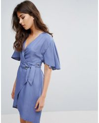 A State Of Being - Embrace Wrap Dress - Lyst