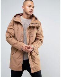 Esprit - Parka With Military Details - Lyst